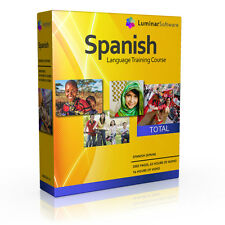 Learn to Speak Spanish Language Training Course - BOXED AS SHOWN!