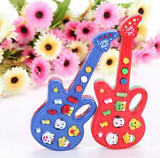 FD1000 Electronic Guitar Toy Nursery Rhyme Music Children Baby Kids Random 1pc