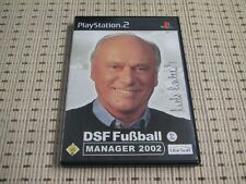 DSF Fußball Manager 2002 für Playstation 2 PS2 PS 2 *OVP*
