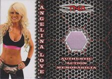 ANGELINA LOVE *Ultra Rare!* LIVE EVENT EXCLUSIVE WORN PINK BRA/TOP #27/30
