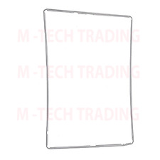 NEW FOR IPAD 2,3,4 WHITE COLOUR OUTER LCD TOUCH SCREEN TRIM + ADHESIVE STICKER