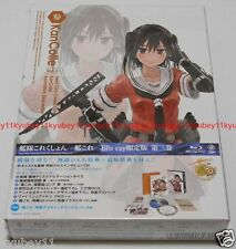Kantai Collection KanColle Vol.3 Limited Edition Blu-ray CD Booklet Card Japan