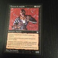 MTG MAGIC STRONGHOLD CROVAX THE CURSED (FRENCH CROVAX LE MAUDIT) NM