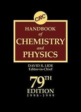 CRC Handbook of Chemistry and Physics, , Good Book