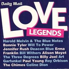 Various Artists  ‎–  Love Legends, Daily Mail CD