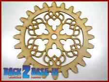 Steampunk Cogs Gears Wheel Laser Cut MDF Decorative Accessory 200mm x 3mm COG3
