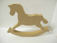 Wooden Rocking Horse . 18 mm Thick Freestanding