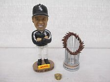 2005 Chicago White Sox World Series Package Ring Bobble Head Trophy Brand New