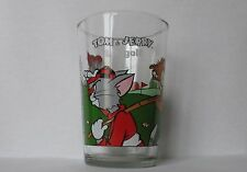 Verre à moutarde glass TOM & JERRY  Maille 1989  N° 1  LE GOLF. VM265