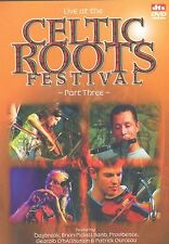CELTIC ROOTS FESTIVAL PART THREE - VARIOUS ARTISTS DVD -FREE POST UK