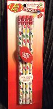 Jelly Belly Pencils Pack Of 4 #2 Pencils with scented Eraser