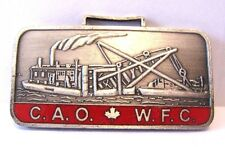 Toronto Steam Dredge Boat 1998 Canadian Association Watch Fob Collectors CAOWFC