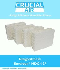 4Pk Humidifier Wick Filters Fit Kenmore & Emerson, Part # Hdc-12 & 14911