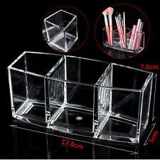 Acrylique Boite Coffret Présentoir Maquillage Bijoux Organisateur Rangement Case