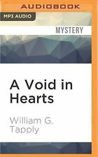 Brady Coyne Mysteries: A Void in Hearts 7 by William G. Tapply (2016, MP3 CD,...