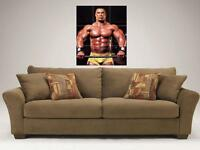 """KEVIN LEVRONE MOSAIC 35""""X25"""" INCH WALL POSTER BODYBUILDING"""