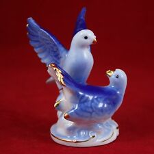 Pigeon & Dove figurine (small), Russian porcelain souvenirs, Handpainted