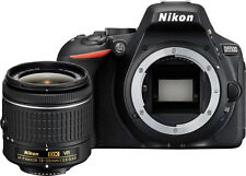Nikon D5500 DSLR Camera Body (Black) + Nikon 18-55mm VR AF-P Lens
