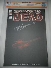 Walking Dead 100 CBCS 9.8 Kirkman Signed Lucille Variant Edition 1st Negan Comic