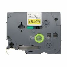 1pk Black on Yellow Label Tape Compatible for Brother P-Touch TZ TZe 631 12mm