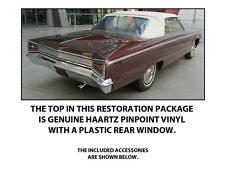 DODGE CUSTOM 880 CONVERTIBLE TOP DO IT YOURSELF Pkg 1962-1965