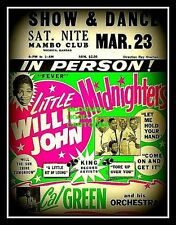 "LITTLE WILLIE JOHN - MINI-POSTER PRINT 7"" x 5"""