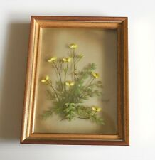 Original Oil Painting Yellow Flowers Nogar Creations Vintage Signed Numbered
