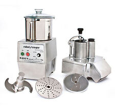 Robot Coupe R602V Variable Speed Combination Food Processor w/ 7 Qt. SS Bowl