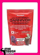MuscleMeds CARNIVOR THUNDER 1lb Chocolate RAGING BULL SERIES protein MUSCLE MEDS