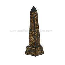 Ancient Egyptian Monument Obelisk Pyramid Top Miniature Figurine Statue Small