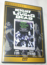 Night of the Living Dead DVD, 1998, Hollywood Classics Free Shipping U.S.A.