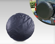 """New Hot Sale 27"""" Spare Wheel Tire Tyre Cover Soft Protector case pure black"""
