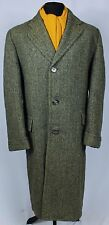Mens Harris Tweed Coat 44 Large EXCEPTIONAL QUALITY GARMENT 243