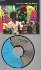 CD--RUBY TURNER --- LIVING FOR THE CITY
