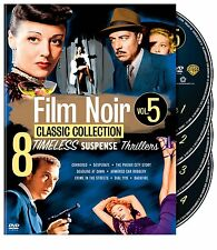 FILM NOIR CLASSIC COLLECTION VOL.5 /8 MOVIES 4-DISC SET NEW SEALED DVD OOP