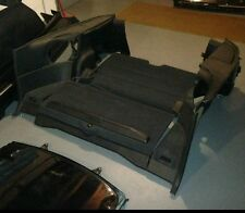 88 to 91 Honda Crx Black rear interior panels