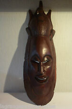 Ancien masque tribal africain