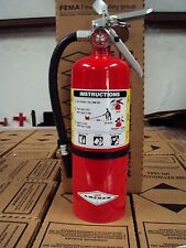 """NEW 2016 """"AMEREX"""" 5-LB ABC FIRE EXTINGUISHER WITH WALL MOUNT BRACKET & SIGN"""