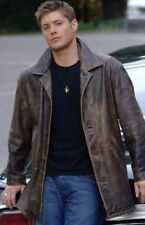 Supernatural Dean Winchester Men's Celebrity Coat Designer Leather Jacket