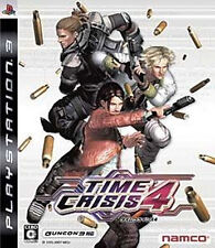 Used PS3 Time Crisis 4 Import Japan