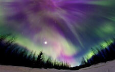 A3 Poster - The Northern Lights (Aurora Borealis Atmosphere Picture Print Art)