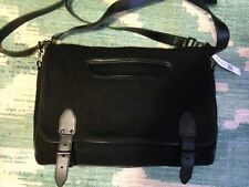 NWT Brand New Theyskens' Theory Large Canapa Messenger Bag