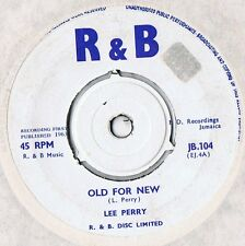 "Lee Perry Old For New/ Prince & Duke UK 1963 R&B 7"" JB.104"