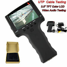 LCD Monitor CCTV IP Security Camera Video Audio LAN Test Tester Detector Tool
