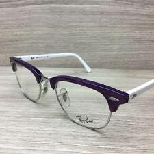 New Ray Ban RB 5154 RB5154 Eyeglasses Frames Purple/White 2432 Authentic 49mm