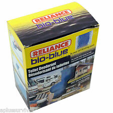 12 Pack Bio-Blue Toilet Chemicals for Portable Toilets