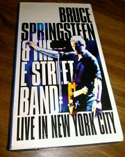 Bruce Springsteen & the E Street Band - Live in New York City VHS 2 Tape Set