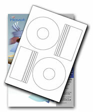 100 Hovat CD / DVD Labels Matt Offset style