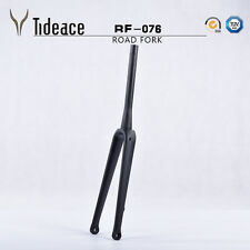 Disc Brake Full Carbon Road Fork 15mm Thru Axle Racing Bike Fork Matte Forks