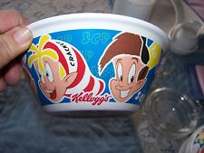 Kelloggs Cereal Bowl (Glow in the Dark) Snap, Crackle, Pop 2015